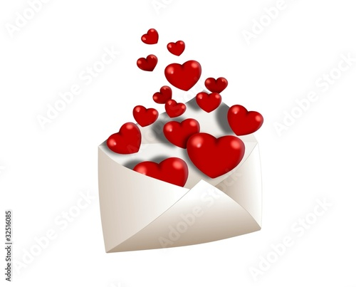 Full of love envelope