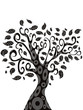 design of Tree silhouette