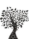 design of Tree silhouette