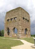 Ancient Roman temple of Janus in France