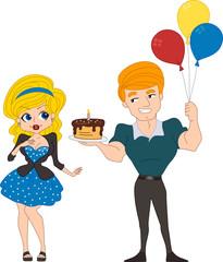 Pin Up Girl Birthday