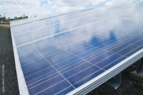 Solar Cell Plant,Countryside-North East of Thailand