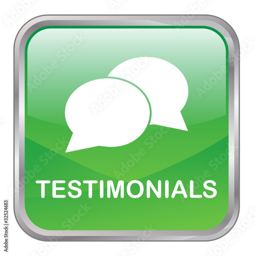 TESTIMONIALS Web Button (satisfaction customer experience share)