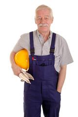 Portrait eines Handwerkers