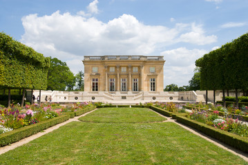 Petit Trianon of Versailles Palace Park