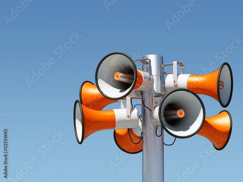 Lautsprecher Mast