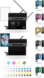 Office InkJet Printer/Photocopier