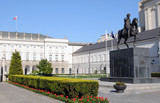 Fototapety The Presidential Palace in Warsaw, Poland