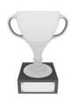 White trophy