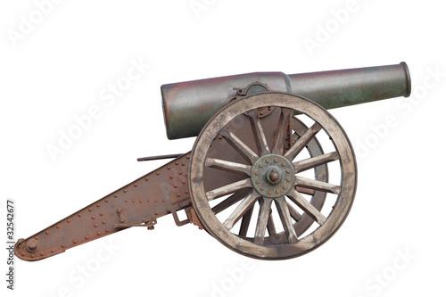 Leinwanddruck Bild kanone