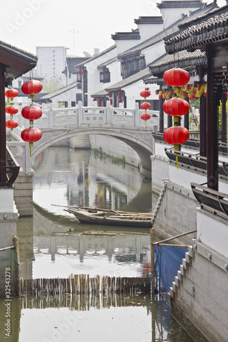 Foto op Canvas Kanaal Water city of Suzhou, China