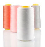 composition of bobbins with stings poster