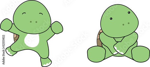 turtle baby cartoon1