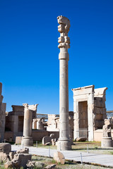 Xerxes Gate (of all nations) in Persepolis
