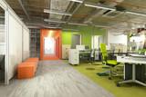 Fototapety Modern green office
