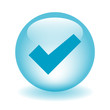 TICK Web Button (next validate submit confirm go ok yes blue)