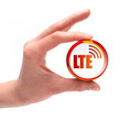 LTE Button, Icon