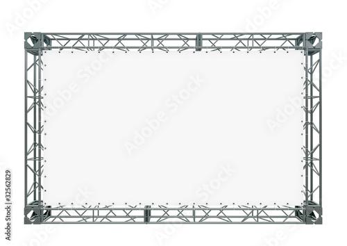 Leinwanddruck Bild advertizing design