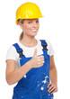 erfolgreiche handwerkerin