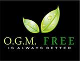 Slogan: OGM FREE is always better poster