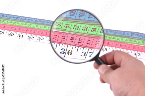 measuring tape close up