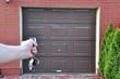 Drzwi  do garażu na pilota - 32570080