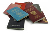 other travel documents isolated