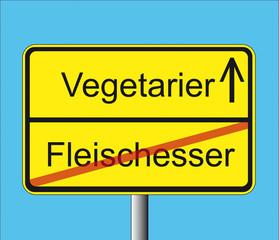 Fleischesser-Vegetarier