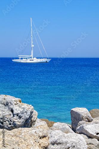 Fototapeten,segelboot,meer,boot,schiff