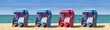 Strandkörbe am Meer 312
