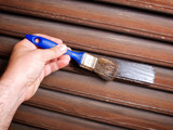 Painting woodwork poster