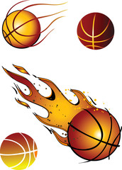 Basketballs! Vector