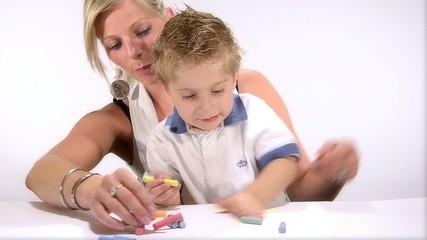 bambino artista