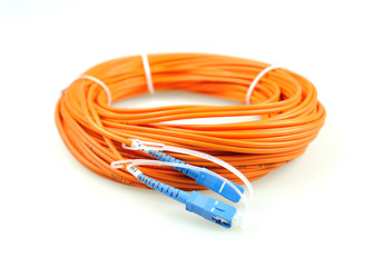 fiber optical network cable .