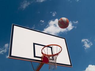 Table and Basketball