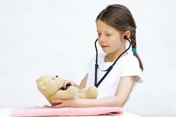 Die junge Ärztin