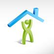 Logo build a house # Vector