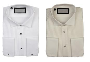 two cotton shirts, elegance concept