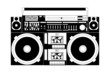 old school boombox - 32592606
