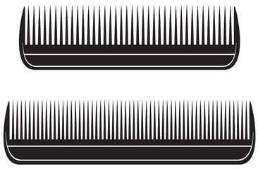 comb vector illustration