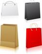 Set of shopping bags.