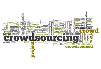 "Word Cloud ""Crowdsourcing"""