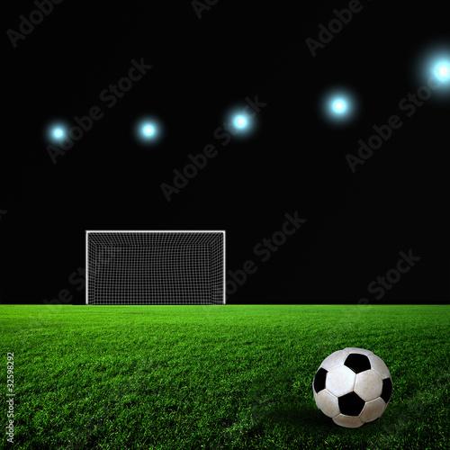 Fotobehang Stierenvechten Soccer
