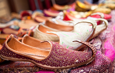 Authentic Iranian woman's shoes in Vakili bazaar