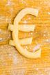 Euro-Symbol als Keks