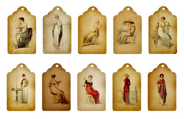 Vintage Ladies Tag Collection