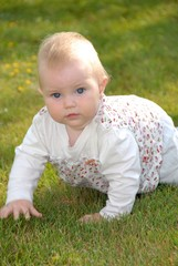 Cute Baby _ outdoor