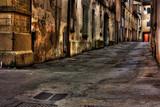 Fototapety dirty corner
