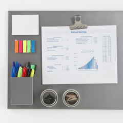 Gray Magnetic Board