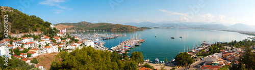 Aluminium Turkey Panoramic view of Fethiye